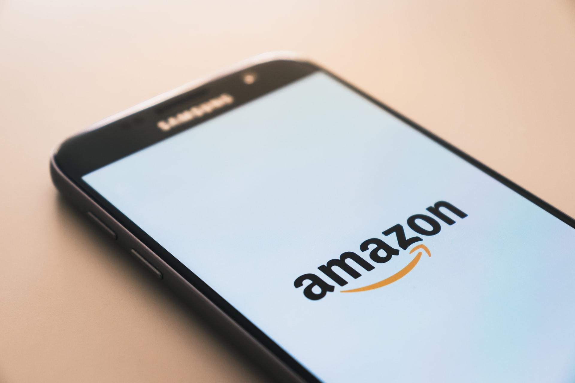 Amazon auf Handy